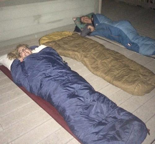 Sleeping Masters!